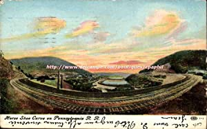 Etats Unis Carte Postale Ancienne Horse Shoe Curve on Pennsylvania