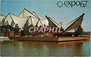 Carte Postale Moderne Montreal Canada Expo67 Le