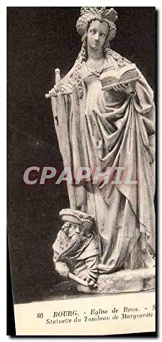Carte Postale Ancienne Bourg Eglise Sainte Catherine