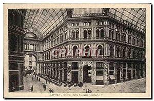 italie Italie Napoli Carte Postale Ancienne Interno