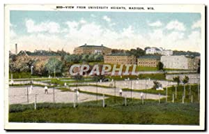 etas Unis - United States - USA - Madison Wisconsin - View from University Heights - Carte Postal...