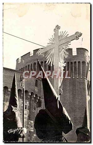 Perpignan Carte Postale Ancienne Semaine sainte en