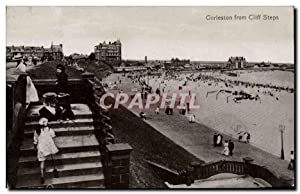 Grande Bretagne Great BRitain Carte Postale Ancienne Gorleston from Cliff steps
