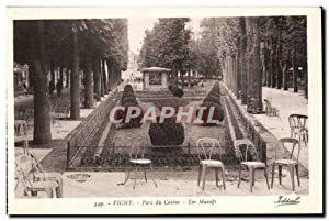 Vichy - Parc du Casino - Les Massifs - Carte Postale Ancienne -