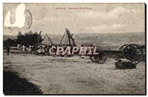 Mailly le Camp - Artillerie - Manoeuvre de la Chevre Goat - Carte Postale Ancienne