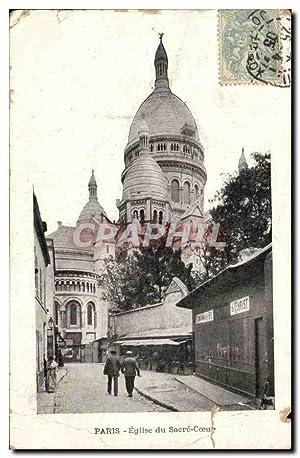 Paris Carte Postale Ancienne Notre Dame (publicité