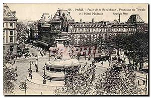 Paris Carte Postale Ancienne Place de la