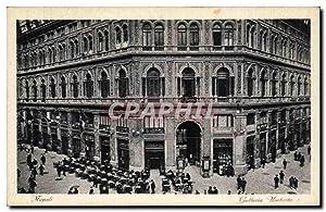 Carte Postale Ancienne Italie Italia Napoli Galleria