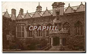 Angleterre - England - London - Oxfordshire - Oxford - Oriel College - Carte Postale Ancienne