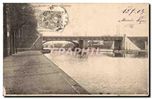 Carte Postale Ancienne Reims Pont d'Epernay