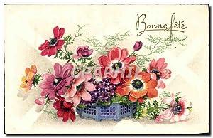 Fleurs - Flowers - Bonne Fête -