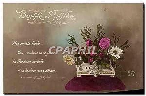 Fleurs - Flowers - Bonne Année -