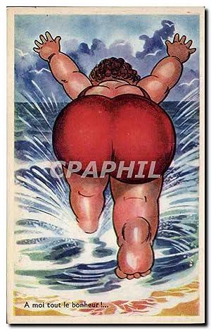 Carte Postale Ancienne Fantaisie Illustrateur A moi