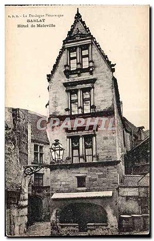 Sarlat - Hôtel de Maleville - Carte