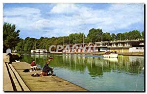 Carte Postale Semi Moderne River Isis And Coloege Barges Oxford