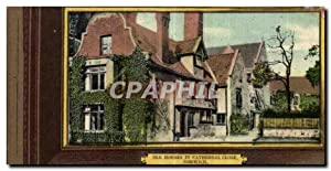 Angleterre - England - Norfolk - Norwich - Old Houses in Cathedral Close - Carte Postale Ancienne