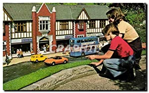 Carte Postale Ancienne Town Centre Shops Model Village Gt Yarmouth