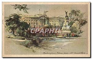 Carte Postale Ancienne Buckingham Palace St James's