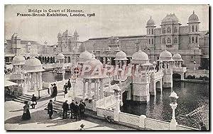 Carte Postale Ancienne Bridge in Court Of