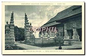 Carte Postale Ancienne - Exposition Coloniale Internationale