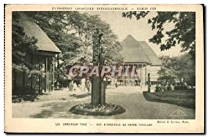 Carte Postale Ancienne -Exposition Coloniale Internationale -