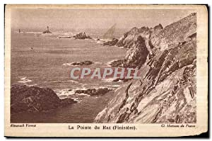 Carte Postale Ancienne Pointe du Raz (Finistere)