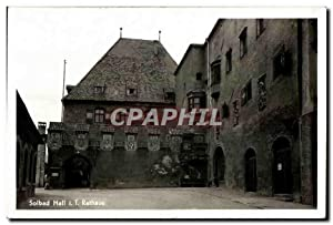 Carte Postale Ancienne Solbad Hall T. Rathaus