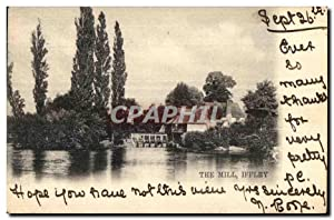 Carte Postale Ancienne Tme Mill Iffley