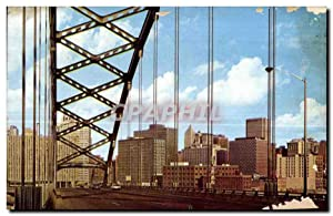 Carte Postale Ancienne View of Downtown Pittsburgh