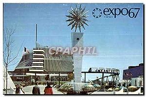 Carte Postale Ancienne Expo67 Montreal Canada Le