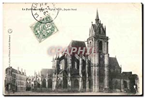 Carte Postale Ancienne La Ferte Bernard Eglise