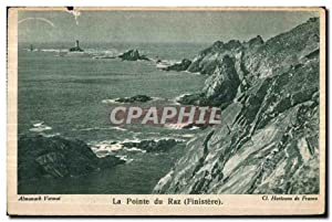 Carte Postale Ancienne La Pointe Du Raz