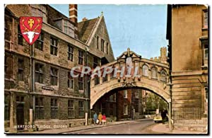Carte Postale Ancienne Hertford Bridge Oxford