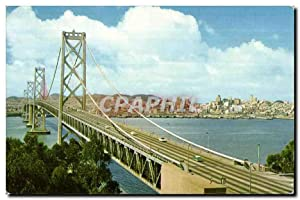 Carte Postale Ancienne San Francisco Oakland Bay