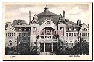 Carte Postale Ancienne Essen Stadt Saalbau