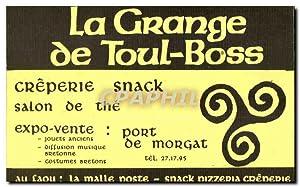 Carte De Visite La Grange Toul