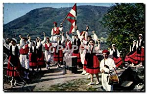 Carte Postale Ancienne Folklore Basque So Fandango