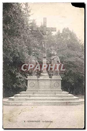 Carte Postale Ancienne Remiremont Le Calvaire Christ