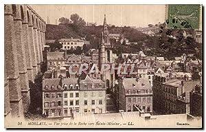 Carte Postale Ancienne Morlaix vue prise de