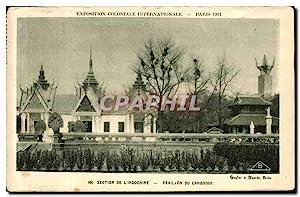 Carte Postale Ancienne Exposition coloniale internationale Paris