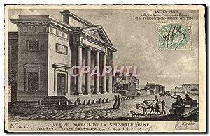 Carte Postale Ancienne Ancien Paris L Eglise