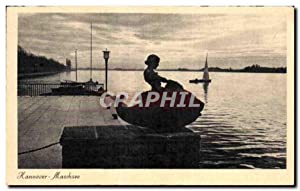 Carte Postale Ancienne Hannover Maschsee