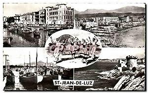Carte Postale Ancienne St Jean De Luz