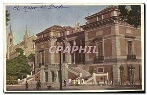 Carte Postale Ancienne Madrid El Museo del
