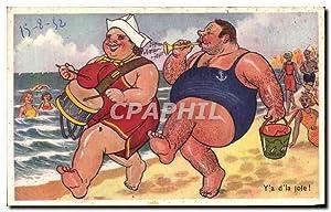 Carte Postale Ancienne Y'a d'la joie !