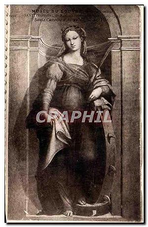 Carte Postale Ancienne Paris Musee du Louvre