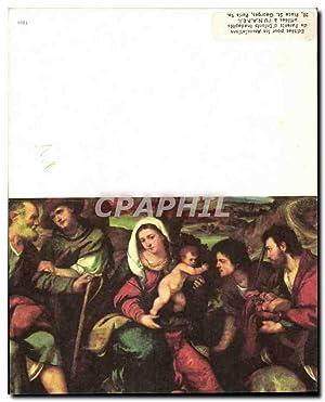 Carte Postale Moderne Adoration Des Bergers Palma