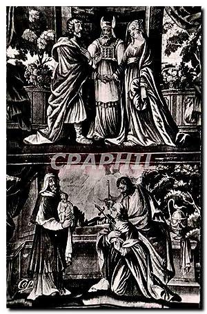 Carte Postale Semi Moderne Saumur Eglise Notre