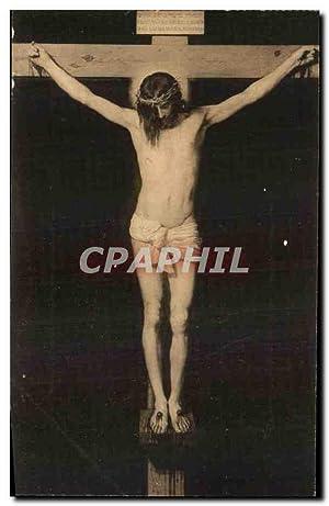 Carte Postale Ancienne Nuestro Senor Crucificado Velazquez
