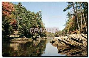 Carte Postale Moderne The Narrows Upper Dells of the Wisconsin River